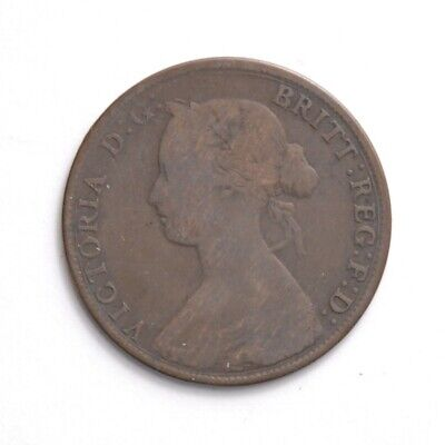 New Brunswick (Canada) 1861 Large Cent Coin
