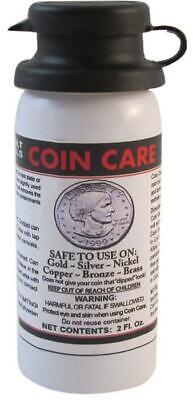 Coin Care Luster Cleaning Restoring Agent For Gold Silver Nickel Copper Bronze