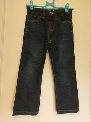 Boys Blue Denim Jeans Age 5 Years D1