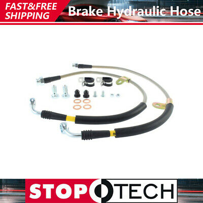 New Front /& Rear Brake Line Hoses MGA 1955-62 with Disc Brakes Made in  UK