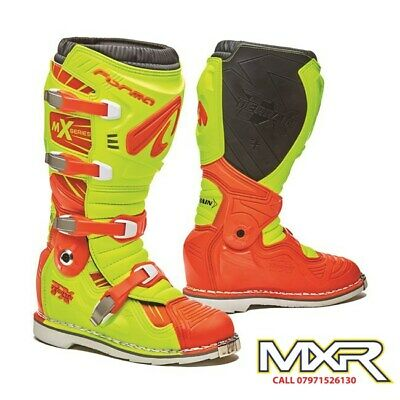 Forma Terrain Tx 2.0 Motocross Boot Fluo Yellow / Orange