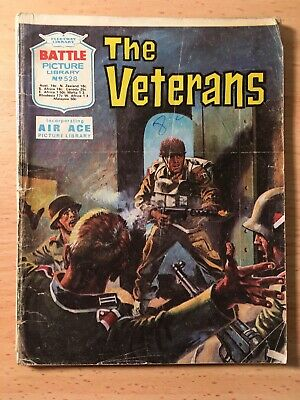 """Fleetway Battle Picture Library Comic # 528 From 1971. """"The Veterans"""""""
