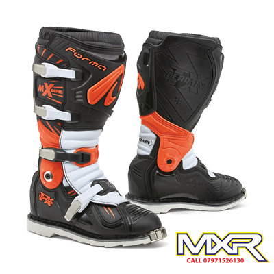 Forma Terrain Tx 2.0 Motocross Boot Black / Orange / White