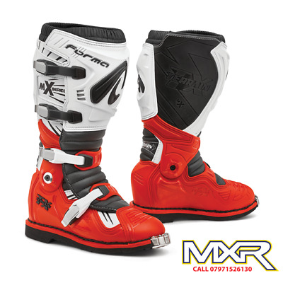 Forma Terrain Tx 2.0 Motocross Boot Red / White