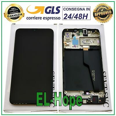 Display Lcd + Frame Originale Samsung Galaxy A10 2018 Sm A105 F Fn Ds Touch Nero
