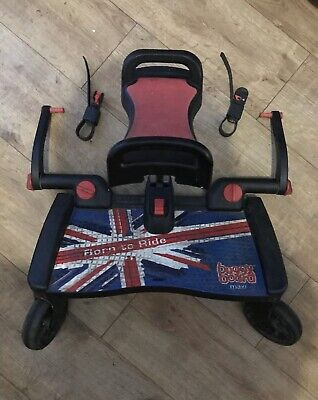 Lascal Buggy Board Maxi With Seat Limited Edition Union Jack