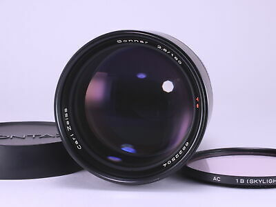 CONTAX Carl Zeiss Sonnar 180mm F2.8 AEG MF Telephoto Prime Lens From Japan