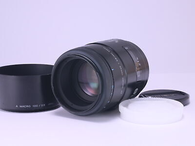 Minolta AF 100mm F2.8 MACRO Sony α Mount Lens from Japan