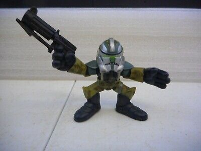 Star Wars Galactic Heroes Action Figure Clone Wras Commander Gree