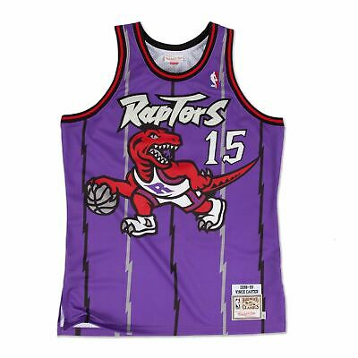 Mens Mitchell & Ness NBA Vince Carter 1998-99 Authentic Jersey Toronto Raptors