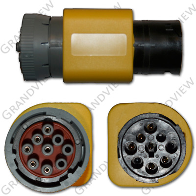 CAT 9-Pin Industrial Connector