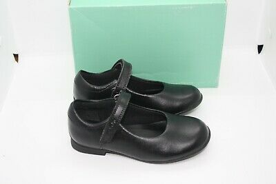 Clarks Infant Girls Beamy Dream Black Leather School Shoes Various Sizes BNIB