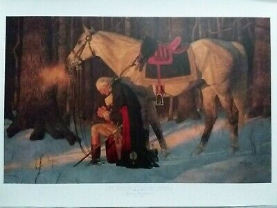 Gallery Edition George Washington The Prayer at Valley Forge by Arnold Friberg