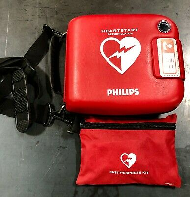 Philips HeartStart FRx AED Defibrillator with Fast Response Kit - Excellent