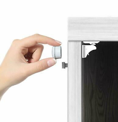 Simplex Magnetic Cabinet Locks - Child Safety Locks - Baby Proofing Cabinets Kit
