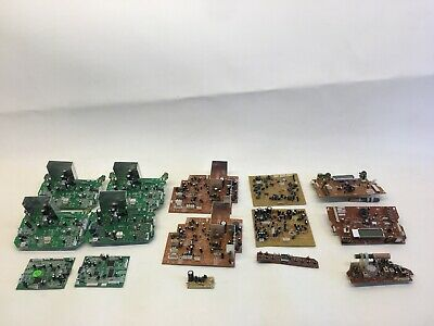 Motherboards gold recovery lot of 3.8 LBS of boards Radio CD Player Salvage