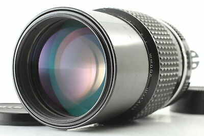 [Excellent+++] Nikon Ai Nikkor 200mm F4 Prime MF Telephoto Lens from Japan #0277
