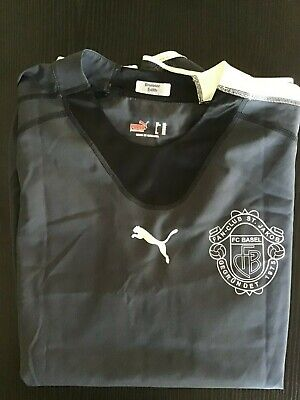 Maglie Calcio Puma Basel Fan Club St.jakob Svizzera Football Shirt Size Xxl