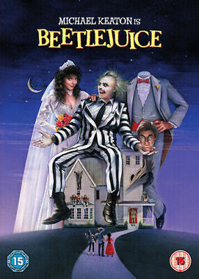 Beetlejuice Dvd Michael Keaton Brand New & Factory Sealed
