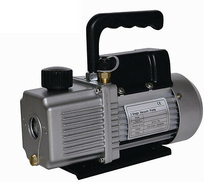 3CFM Two Stage Electric Vacuum Pump  AIR CONDITIONER REFRIGERATION NEW! FREE S/H