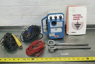 Biddle Megger Earth Tester 63241 Null Balance With Case And Manual 90 00 Picclick