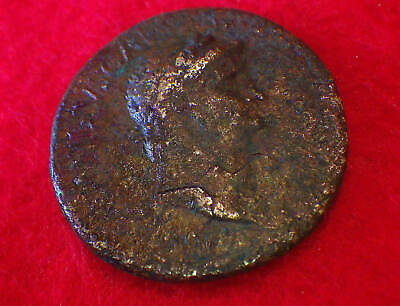 NERO  (74 AD)     HUGE PROVINCIAL with GREAT PORTRAIT     ROMAN COIN Collections