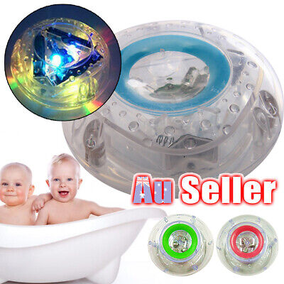 Bathroom LED Light Children Kids Funny Toys Multicolor Waterproof Bath Toy