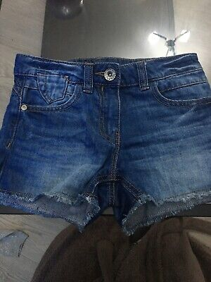 Girls Next Denim Shorts Age 7 BNWOT