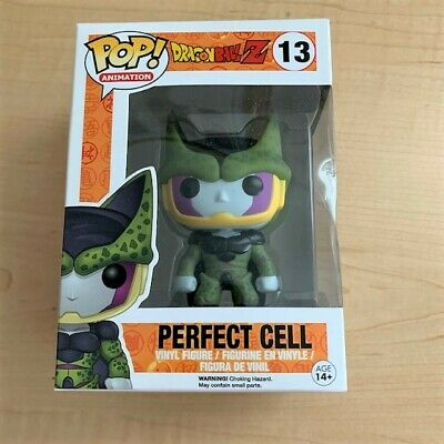 Funko POP! Animation Dragonball Z Perfect Cell Vinyl Figure #13 Vaulted