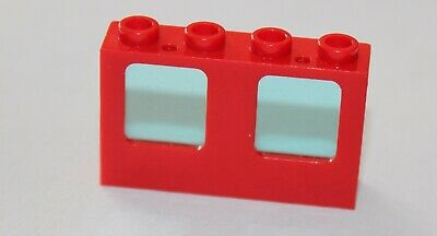 Set 6392 1720 6643 4031 7046 ... Fenetre rouge LEGO red Window ref 4863