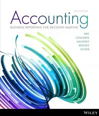 Accounting: Business Reporting for Decision Making 6th Edition - PDF