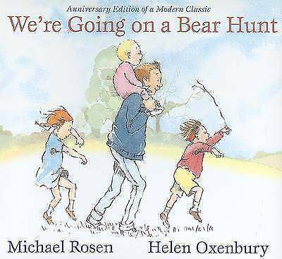 New We're Going on a Bear Hunt by Michael Rosen (Board book) Free Postage