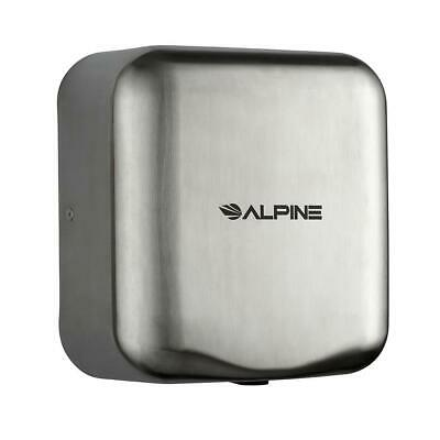 Alpine Stainless Steel Brushed High Speed Commercial 220V Automatic Hand Dryer