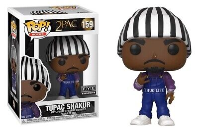 PREORDER Funko POP EXCLUSIVE Tupac 2pac in Thug Life Overalls #159 Vinyl Figure