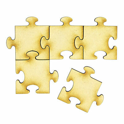 17cm 36 Pieces laser cut 3 mm thick 170mm mdf Blank Wooden Jigsaw Puzzle