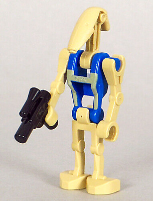 SWD11 Lego Star Wars Pilot Battle Droid Minifigure /& Gun 7958 7929 NEW
