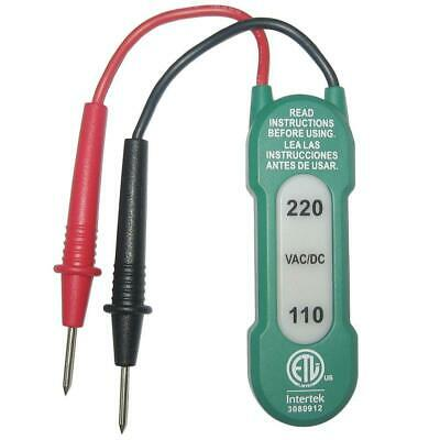 Commercial Electric110/220VAC Voltage Tester Power Test Electrical Safely Checks