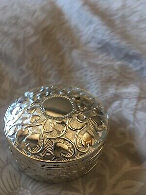 Brand New Sophia Round Trinket Box Christening Birthday Anniversary Gift