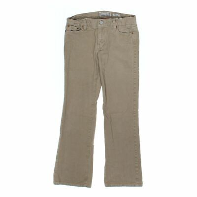 Old Navy Girls Pants size JR 1,  beige,  cotton, spandex