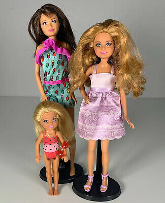 Barbie's Sisters Mattel Stacy Skipper Chelsea Dolls