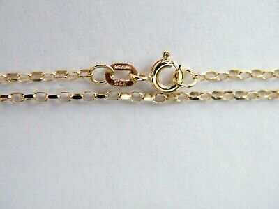 "9ct Yellow and White Gold Figaro Anklet  4mm Wide   10/"" in length    5.2gm  NEW"