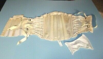Vintage Camp Corset  Lacing Drawstring Style with Gusset  Size 44
