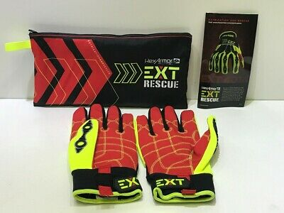 HexArmor EXT Rescue 4014 Barrier Gloves - 9L Extraction And Rescue