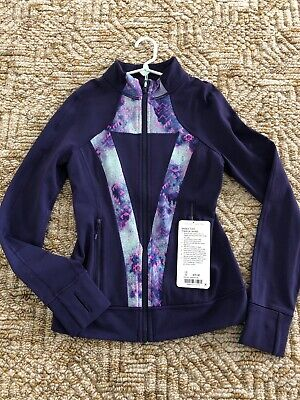 Ivivva by Lululemon Girls Perfect Your Practice Jacket Purple Size 12