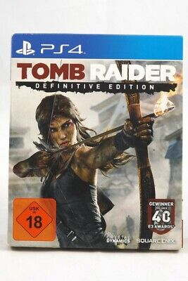Tomb Raider - Definitive Edition (Sony PlayStation 4) PS4 Spiel in OVP