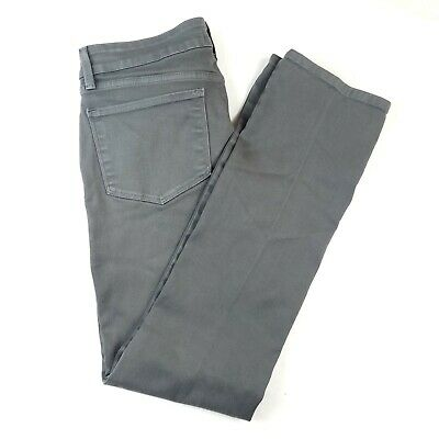 Not Your Daughters Jeans NYDJ 8 Gray Denim Jeans Womens Samantha Slim Stretch