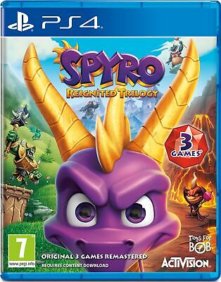 Spyro: Reignited Trilogy | PlayStation 4 PS4 Used