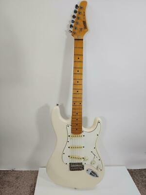 Hohner ST Special Professional Electric Guitar Korean Strat Style Maple White