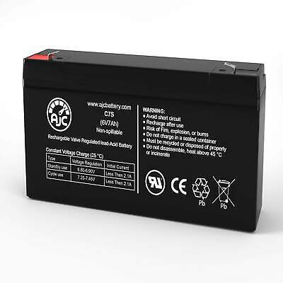 Panasonic LCR12V6.5P 12V 7Ah Sealed Lead Acid Battery This is an ...