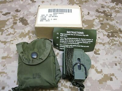 New Cammenga 3H Tritium Military Marching Lensatic Compass Model 3-H Od Green